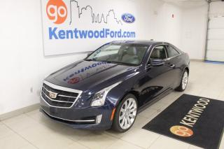 Used 2015 Cadillac ATS Coupe Luxury AWD !   Heated Luxurious Leather   Sunroof   SPOIL YOURSELF! for sale in Edmonton, AB