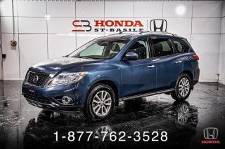 Used 2014 Nissan Pathfinder S + AWD + A/C + CRUISE + MAGS + WOW! for sale in St-Basile-le-Grand, QC