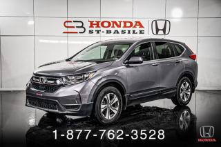Used 2018 Honda CR-V LX + AWD + A/C + CAMERA + MAGS + WOW! for sale in St-Basile-le-Grand, QC