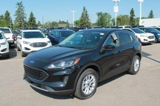 New 2020 Ford Escape SE 200A 1.5L Ecoboost with Heated Seats, Auto Start/Stop, Lane Keeping System, Pre-Collision Assist, Remote Keyless Entry, and Reverse Camera System for sale in Edmonton, AB