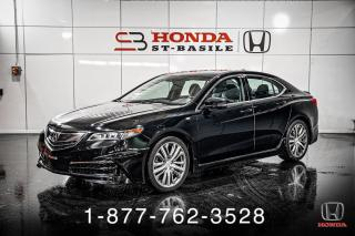 Used 2016 Acura TLX TECH + A-SPEC + NAVI + CUIR + WOW! for sale in St-Basile-le-Grand, QC