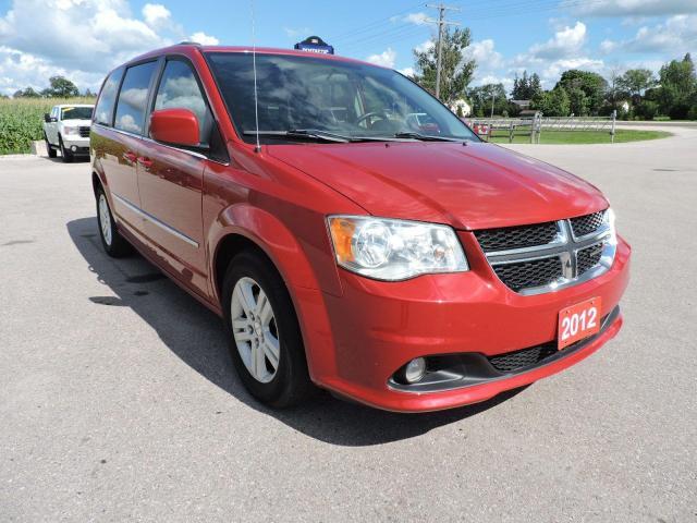 2012 Dodge Grand Caravan Crew 1 owner No rust Only 105000 km
