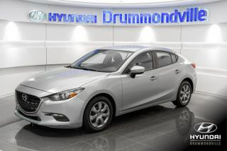 Used 2017 Mazda MAZDA3 GX + GARANTIE + CAMERA + A/C + CRUISE + for sale in Drummondville, QC
