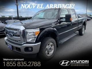 Used 2014 Ford F-250 XLT 4X4 + GARANTIE + A/C + CRUISE + HIT for sale in Drummondville, QC