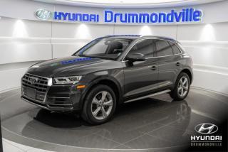 Used 2018 Audi Q5 PROGRESSIV QUATTRO + GARANTIE +TOIT PANO for sale in Drummondville, QC