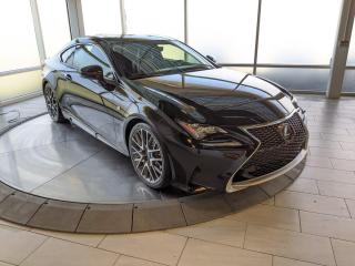 Used 2015 Lexus RC 350 F-Sport | AWD | Mark Levinson | No Accidents for sale in Edmonton, AB
