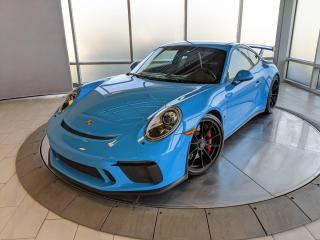 Used 2018 Porsche 911 GT3 | CPO | Ext. Warranty | Manual | Paint to Sample for sale in Edmonton, AB
