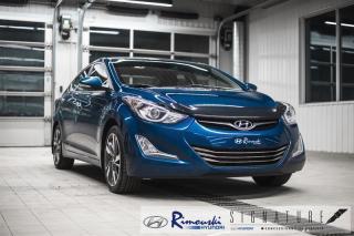 Used 2014 Hyundai Elantra Limited chez Rimouski Hyundai for sale in Rimouski, QC