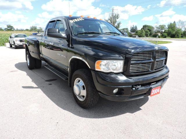 2004 Dodge Ram 3500 SLT Diesel 4X4 Leather Only 196000 km