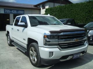 Used 2016 Chevrolet Silverado 1500 High Country ,4X4 , 4Dr. Crew for sale in Beaverton, ON