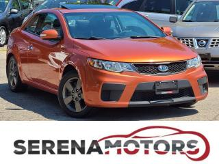 Used 2010 Kia Forte Koup EX | MANUAL | SUNROOF | NO ACCIDENTS for sale in Mississauga, ON