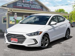 Used 2017 Hyundai Elantra GL,LOW KMS,R/V CAM,BLIND-SPOT DETECTION,B.TOOTH for sale in Orillia, ON