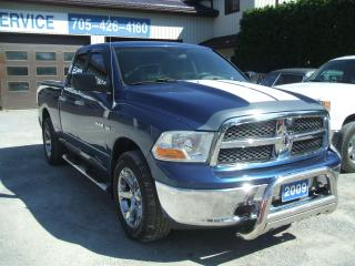 Used 2009 Dodge Ram 1500 Slt, 4x4, Quad Cab for sale in Beaverton, ON