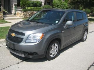 Used 2012 Chevrolet Orlando 7PASSENGERS, CERTIFIED, NO ACCIDENTS for sale in Toronto, ON