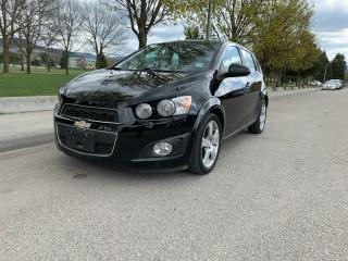 Used 2012 Chevrolet Sonic LT for sale in Kelowna, BC