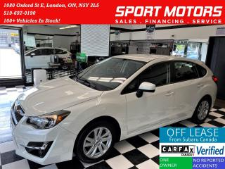 Used 2016 Subaru Impreza 2.0i w/Touring AWD+New Brakes+Camera+Accident Free for sale in London, ON