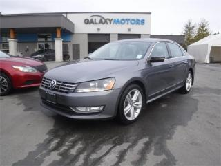 Used 2013 Volkswagen Passat HIGHLINE-LEATHER, SUNROOF, MEMORY SEATS for sale in Duncan, BC