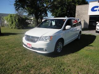 Used 2019 Dodge Grand Caravan SXT Premium Plus w/ Leather & Navigation for sale in Ottawa, ON
