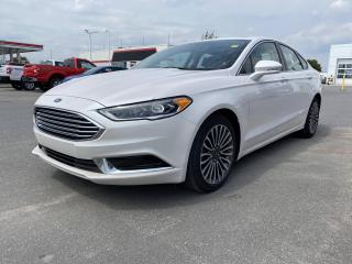 Used 2018 Ford Fusion SE - NAV, BLUETOOTH,  MOON ROOF for sale in Kingston, ON