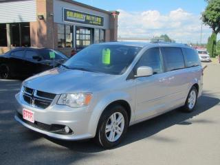 Used 2012 Dodge Grand Caravan Crew for sale in Brockville, ON