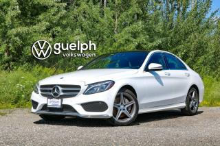 Used 2016 Mercedes-Benz C 300 4Matic AMG Sport Pkg, HUD, Navigation for sale in Guelph, ON