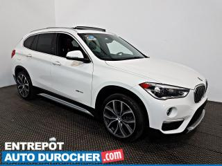 Used 2016 BMW X1 XDrive28i AWD NAVIGATION - Toit Ouvrant - A/C CUIR for sale in Laval, QC
