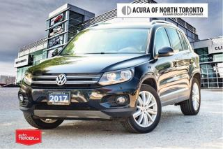 Used 2017 Volkswagen Tiguan Comfortline 2.0T 6sp at w/Tip 4M No Accident| Back for sale in Thornhill, ON