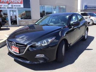 Used 2015 Mazda MAZDA3 Sport GS|BACK UP CAMERA for sale in Milton, ON