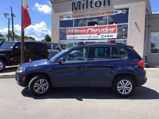 Used 2016 Volkswagen Tiguan Trendline for sale in Milton, ON