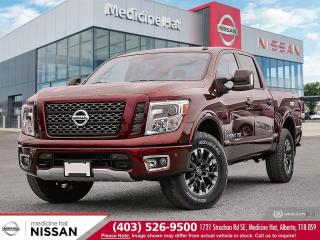 New 2019 Nissan Titan Pro-4X for sale in Medicine Hat, AB