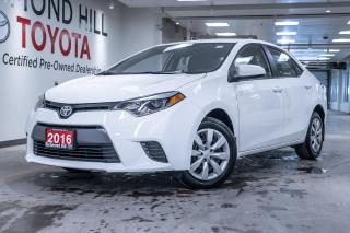 Used 2016 Toyota Corolla 4dr Sdn CVT LE for sale in Richmond Hill, ON