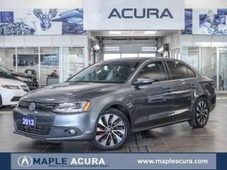 Used 2013 Volkswagen Jetta Turbocharged Hybrid Highline (DSG) for sale in Maple, ON