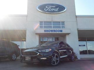 Used 2018 Ford Fusion V6 Sport for sale in Mount Brydges, ON