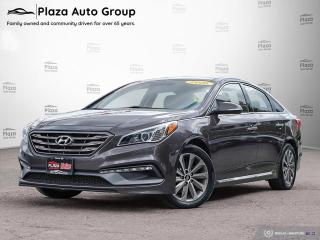 Used 2016 Hyundai Sonata Sport Tech | LEATHER | NAV | 7 DAY EXCHANGE for sale in Richmond Hill, ON