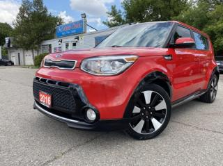 Used 2016 Kia Soul 5dr Wgn Auto SX * Back up cam accident free for sale in Brampton, ON