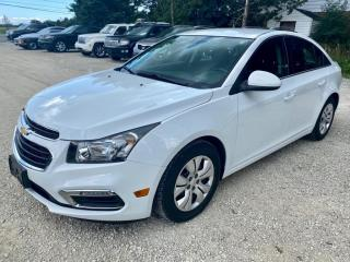 Used 2015 Chevrolet Cruze 4dr Sdn 1LT, one owner, low km's, no accidents for sale in Halton Hills, ON