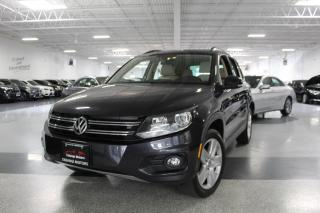 Used 2016 Volkswagen Tiguan 4MOTION I NO ACCIDENTS I LEATHER I PANOROOF I REAR CAM for sale in Mississauga, ON