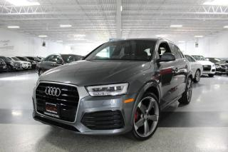 Used 2016 Audi Q3 S-LINE TECHNIK NO ACCIDENTS I NAVIGATION I PANOROOF I BOSE for sale in Mississauga, ON
