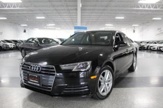 Used 2017 Audi A4 QUATTRO NO ACCIDENTS I SUNROOF I LEATHER I HEATED SEATS I BT for sale in Mississauga, ON