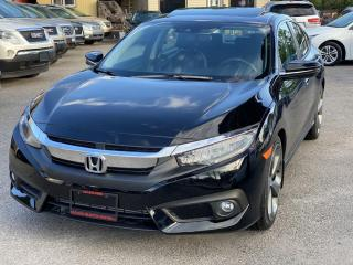 Used 2018 Honda Civic Sedan Touring CVT for sale in Scarborough, ON
