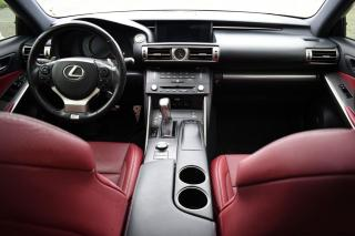 Used 2016 Lexus IS 350 AWD.RED INTERIOR. F SPORT. ALL OPTIONS. for sale in Mississauga, ON