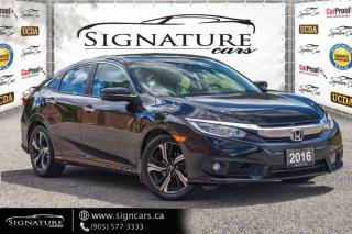 Used 2016 Honda Civic Sedan 4dr CVT Touring for sale in Mississauga, ON