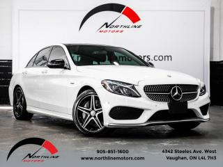 Used 2016 Mercedes-Benz C-Class C450 AMG 4MATIC|Navigation|360 Camera|Pano Roof|Blindspot for sale in Vaughan, ON