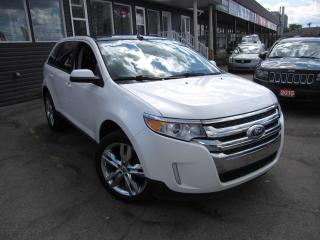 Used 2014 Ford Edge SEL AWD, LEATHER, NAVI, B-CAM, PANO-ROOF for sale in Scarborough, ON