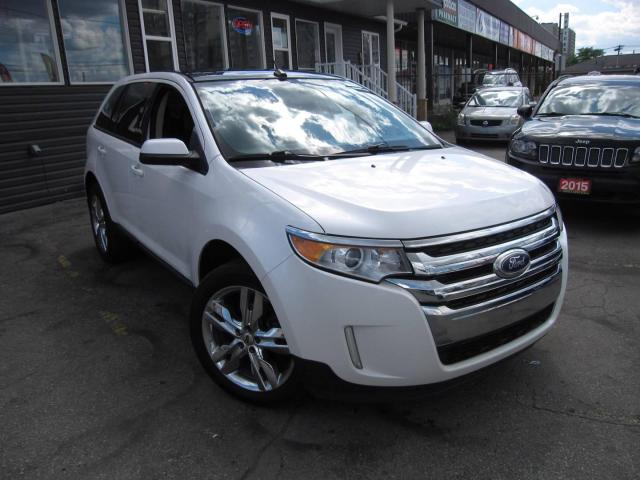 2014 Ford Edge SEL AWD, LEATHER, NAVI, B-CAM, PANO-ROOF