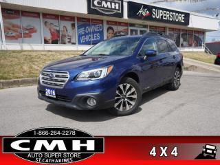 Used 2016 Subaru Outback 2.5i Limited  NAV ROOF LEATH CAM P/GATE for sale in St. Catharines, ON