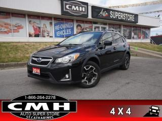 Used 2016 Subaru XV Crosstrek Touring  AWD CAM HS BT HEATED MIRRORS for sale in St. Catharines, ON