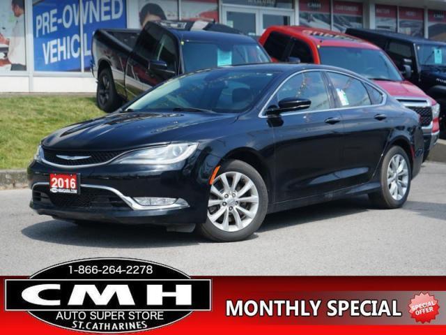 2016 Chrysler 200 C  NAV CAM LEATH P/SEATS HTD-S/W 17-AL