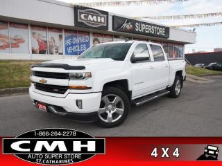 Used 2018 Chevrolet Silverado 1500 2LT  2LT Z71 V8 CREW 4X4 HS NAV for sale in St. Catharines, ON
