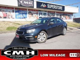 Used 2015 Chevrolet Cruze LS w/2LS  PWR-GROUP BT AUTO S/W-CONTROLS for sale in St. Catharines, ON